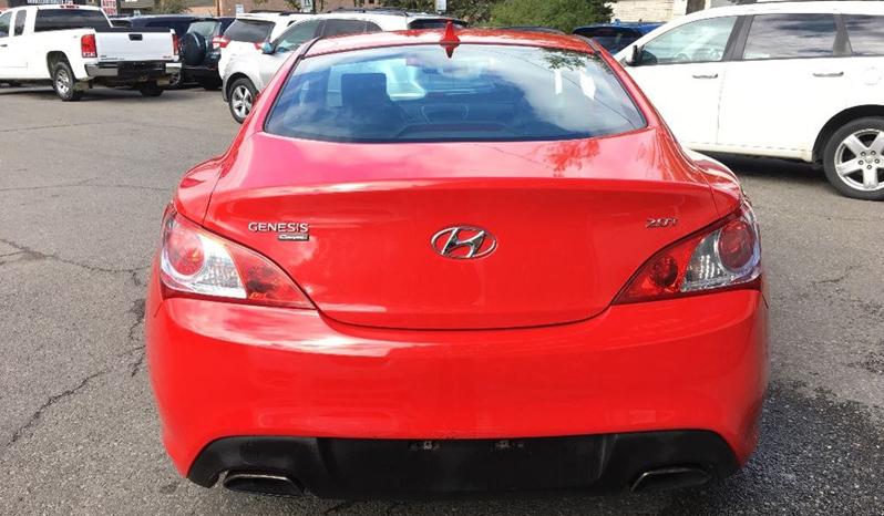 2011 Hyundai Genesis Coupe full